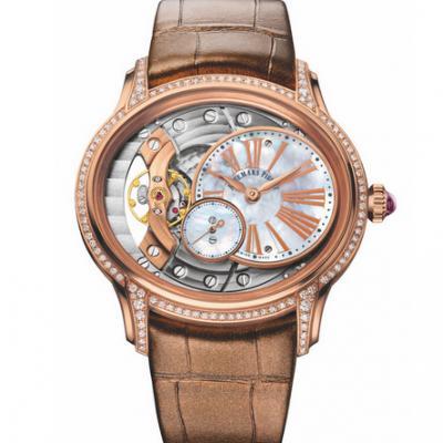 V9厂爱彼千禧系列15350款男士镶钻版机械手表