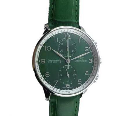YL厂万国全新万国葡萄牙葡计男士机械手表 150周年最新版本 绿面