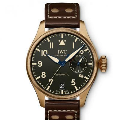 YL万国大飞IW501005男士机械手表 三点位置动能显示 18k金