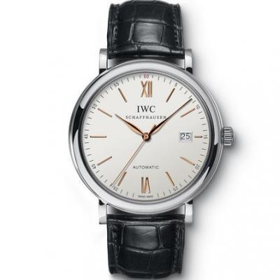 MKS厂万国柏涛菲诺系列男士自动机械手表 简洁大方 一比一复刻