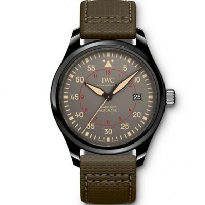 万国飞行员马克十八IW324702,ASIA2892自动机械机芯男士手表