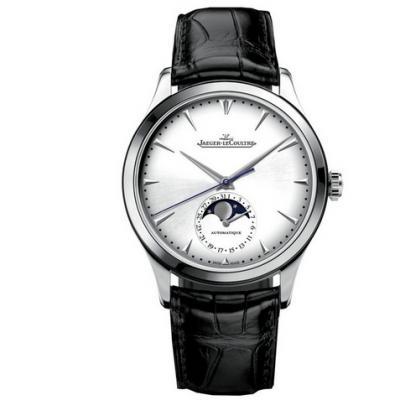 ZF厂积家大师系列1368420月相功能男士机械手表(白面宽) 顶级复刻最新版本