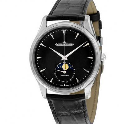 ZF厂积家大师系列1368470月相功能男士机械手表 顶级复刻最新版本