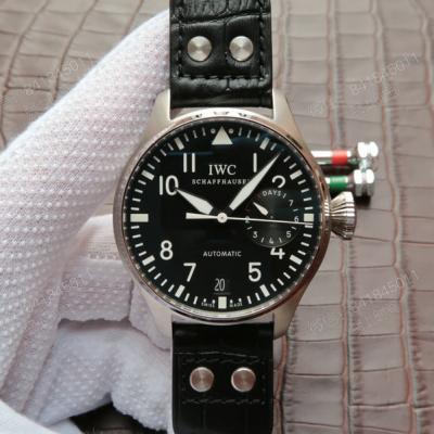 万国IW500901新款大飞机械男士手表,3点钟位置真动能显示器
