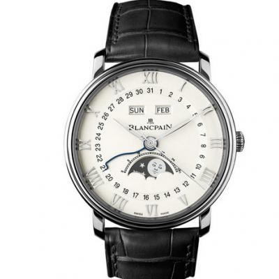 om厂顶级复刻宝珀Blancpain 经典系列 6654-1127-55B男士机械手表 完美