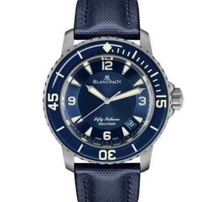 zf厂复刻宝珀5015-12B40-O52A五十寻系列男士机械手表 顶级复刻版