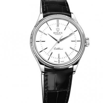 NB劳力士Rolex切利尼系列50509复刻3132自动机械机芯牛皮表带 男士腕表