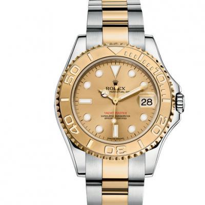 一比一复刻劳力士游艇名仕️系列168623-78753男士机械手表 包金版