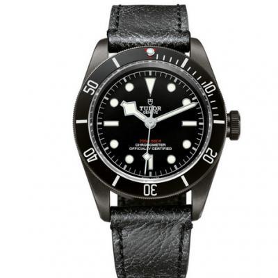 ZF厂帝舵启承系列m79230dk-仿古皮表带小黑花男士手表腕表 原装开模