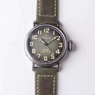 XF真力时 飞行员系列--复古大飞,独特而考究的新款时计机械腕表