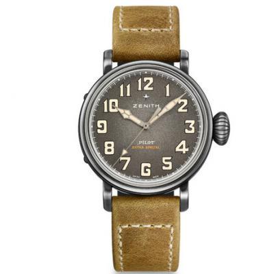 XF厂真力时飞行员系列11.1940.679 / 91.C807复古大飞 男士机械表