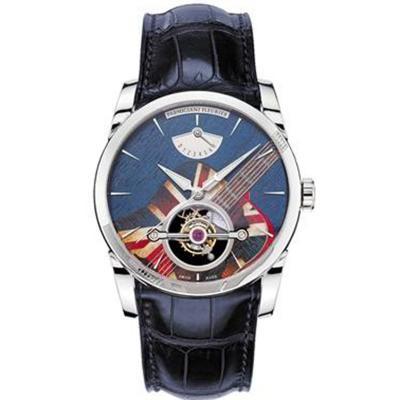 JB帕玛强尼TONDA系列PFS251款顶级陀飞轮腕表 搭配真陀飞轮手动上链机械机芯 男士腕表