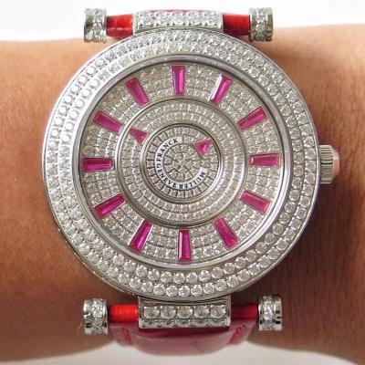 FM法兰克穆勒法穆兰DOUBLE MYSTERY系列机械女表 珠宝镶嵌 时尚大气