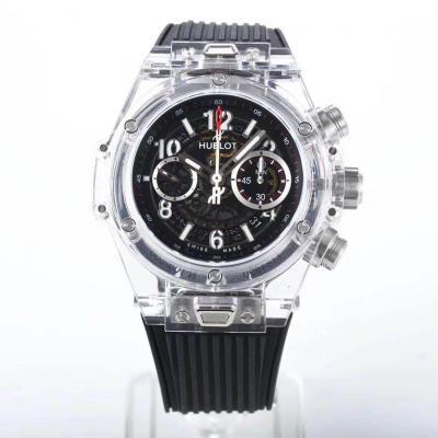 HB厂宇舶一比一复刻7750机芯机械手表 和正品一致功能 黑面