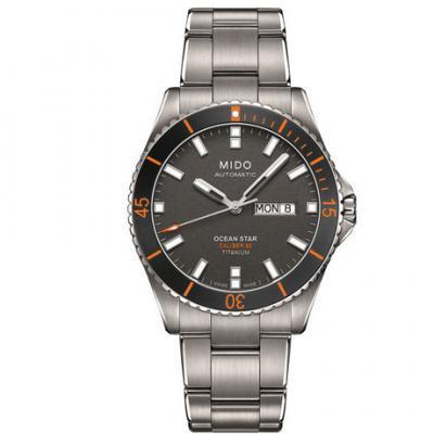 一比一高仿美度领航者M026男士自动机械钢带手表