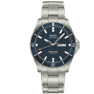 一比一高仿美度领航者M026.430.11.041.00 男士自动机械钢带手表