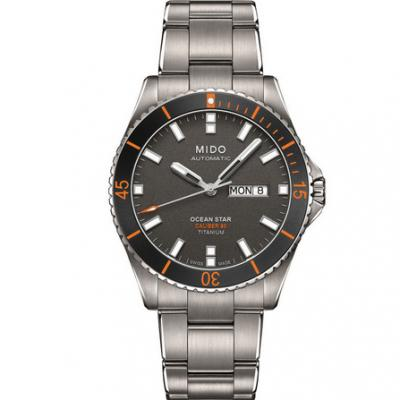 一比一高仿美度领航者系列M026.430.44.061.00男士自动机械钢带手表