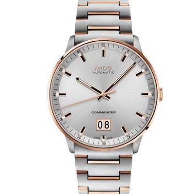 HG美度指挥官系列M021.626.22.031.00大日历男士机械皮带手表