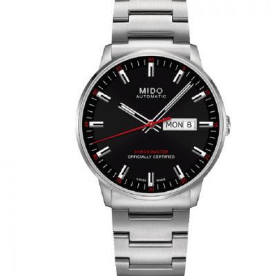 MJ美度指挥官系列M021.431.11.051.00 星期日历双历机械男士手表
