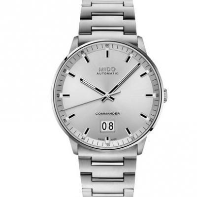 HG美度指挥官系列M021.626.11.031.00大日历男士机械手表