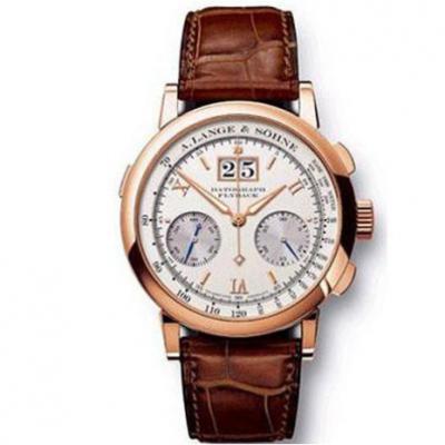 TF朗格万年历系列403.032手动机械男士手表