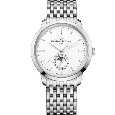 VF厂芝柏1966系列49545-11-131-11A月相功能机械男士钢带手表