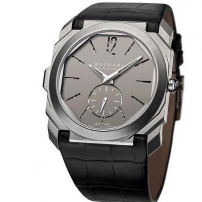 宝格丽全新OCTO系列102559超薄男士皮带自动机械腕表