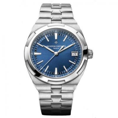 精仿江诗丹顿4500V/110A-B128纵横四海系列男士蓝面机械手表