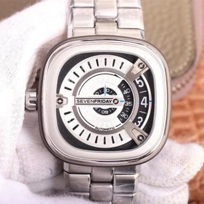 SV厂手表七个星期五,自动机械男士精钢腕表,市场最高版本