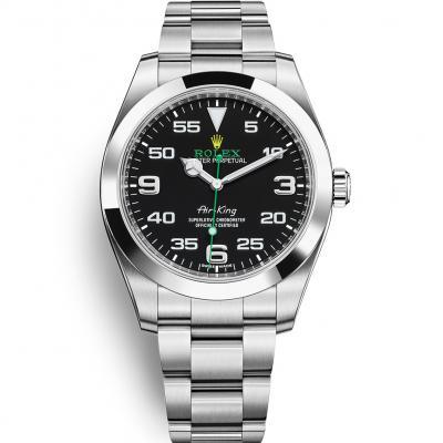 N厂劳力士空中霸王116900 自动机械机芯 精钢表带 男士手表