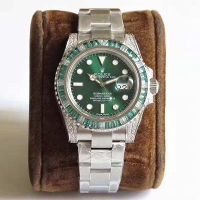 N厂出品劳力士绿幽灵904L版男士手表  再次复出,震撼来袭