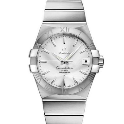 VS欧米茄星座123.10.38.21.02.001才是欧米茄的精髓 一款好看的款式 精钢表带 男士