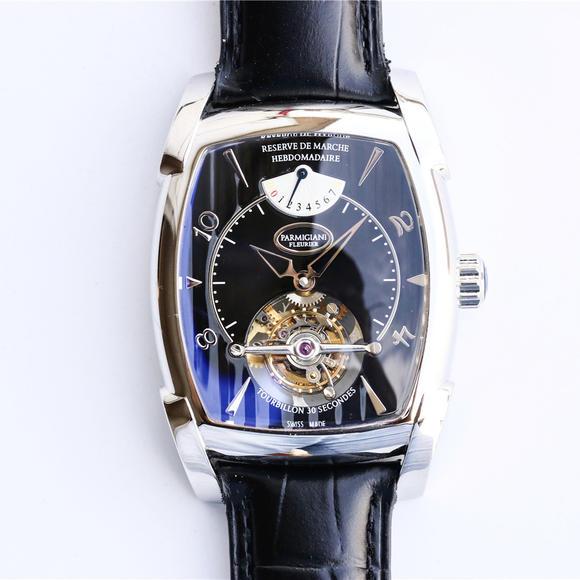 帕玛强尼KALPA系列真陀飞轮腕表,手动顶级真飞轮机芯,男士手表,皮带表
