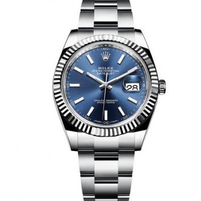 N厂复刻劳力士日志型126334-0001蓝盘男士自动机械腕表