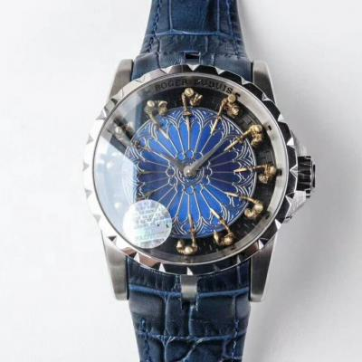 罗杰杜彼男士机械手表 蓝面