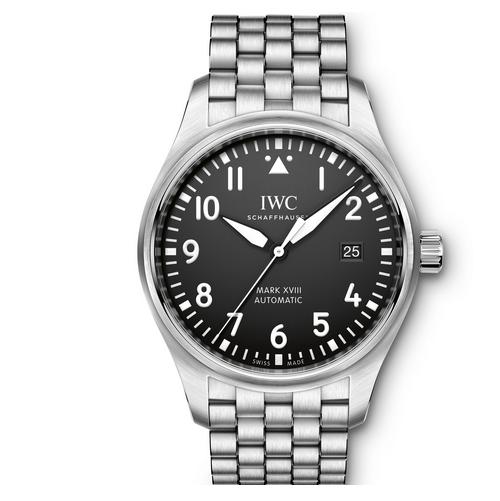 V7厂终极版本马克十八钢带款 黑盘 男士自动机械腕表