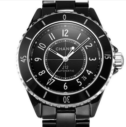 BV厂复刻香奈儿全新J12全自动机械中性手表 陶瓷黑款