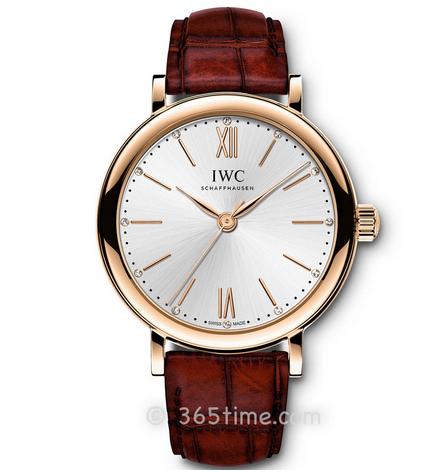 一比一复刻万国柏涛菲诺系列IW357401皮带女士机械手表