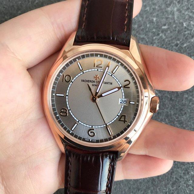 ZF厂复刻江诗丹顿伍陆之型系列三针男士皮带机械腕表