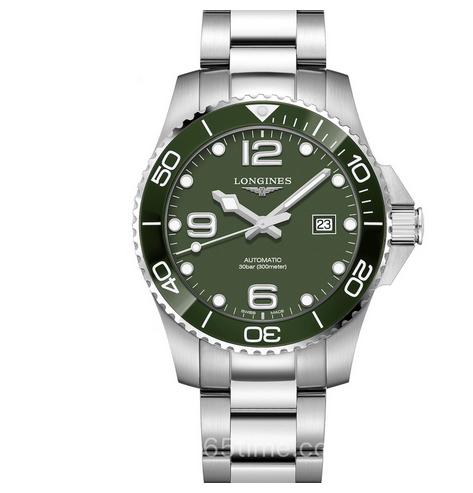 ZF厂复刻浪琴康卡斯L3.782.4.06.6水中霸主钢带男士机械手表