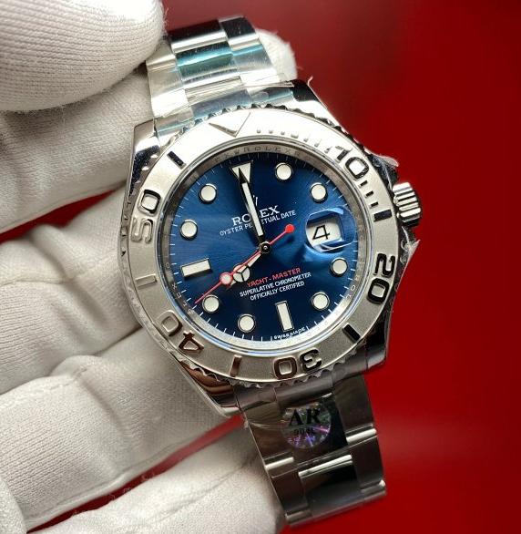 AR厂复刻劳力士游艇名仕超级进口904L钢带男士机械手表