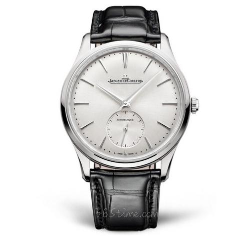 ZF厂复刻积家超薄大师系列1218420小秒针腕表 白盘男士机械手表